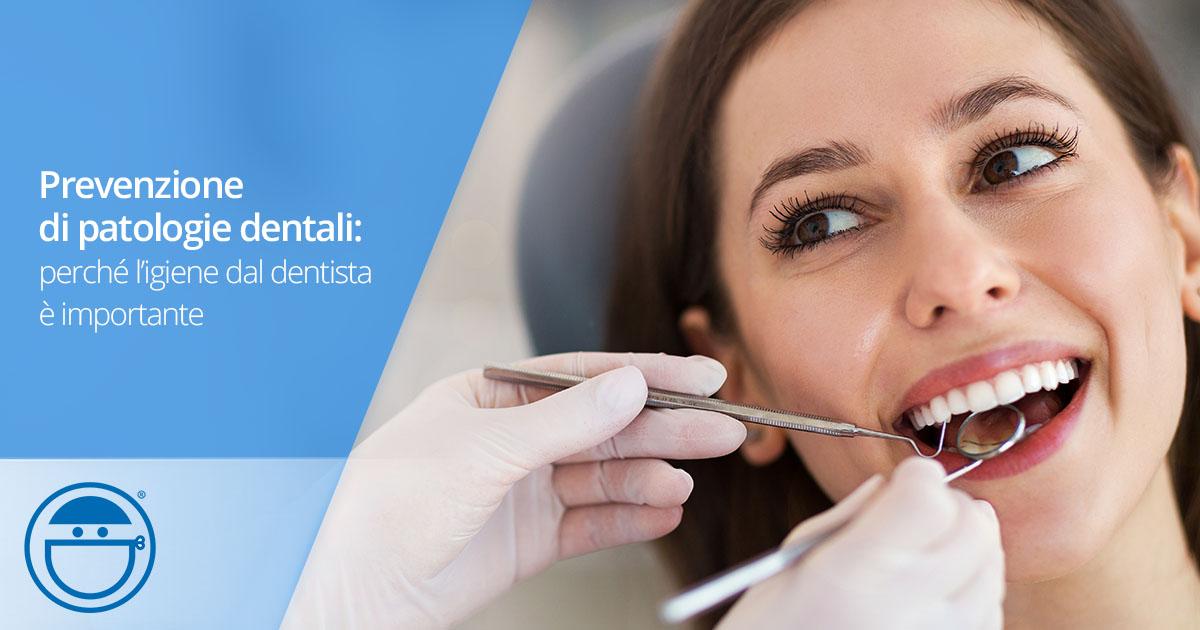 Prevenire le patologie dentali con la pulizia professionale dal dentista